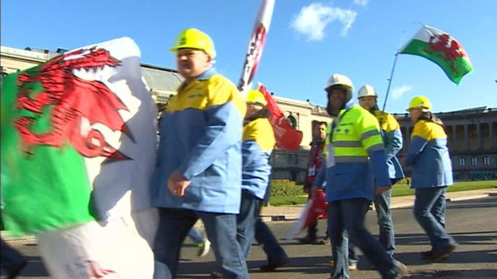 Tata workers also lobbied in Brussels last month