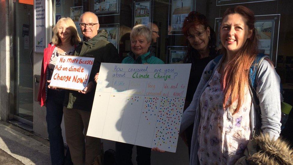 XR Chelmsford protestors