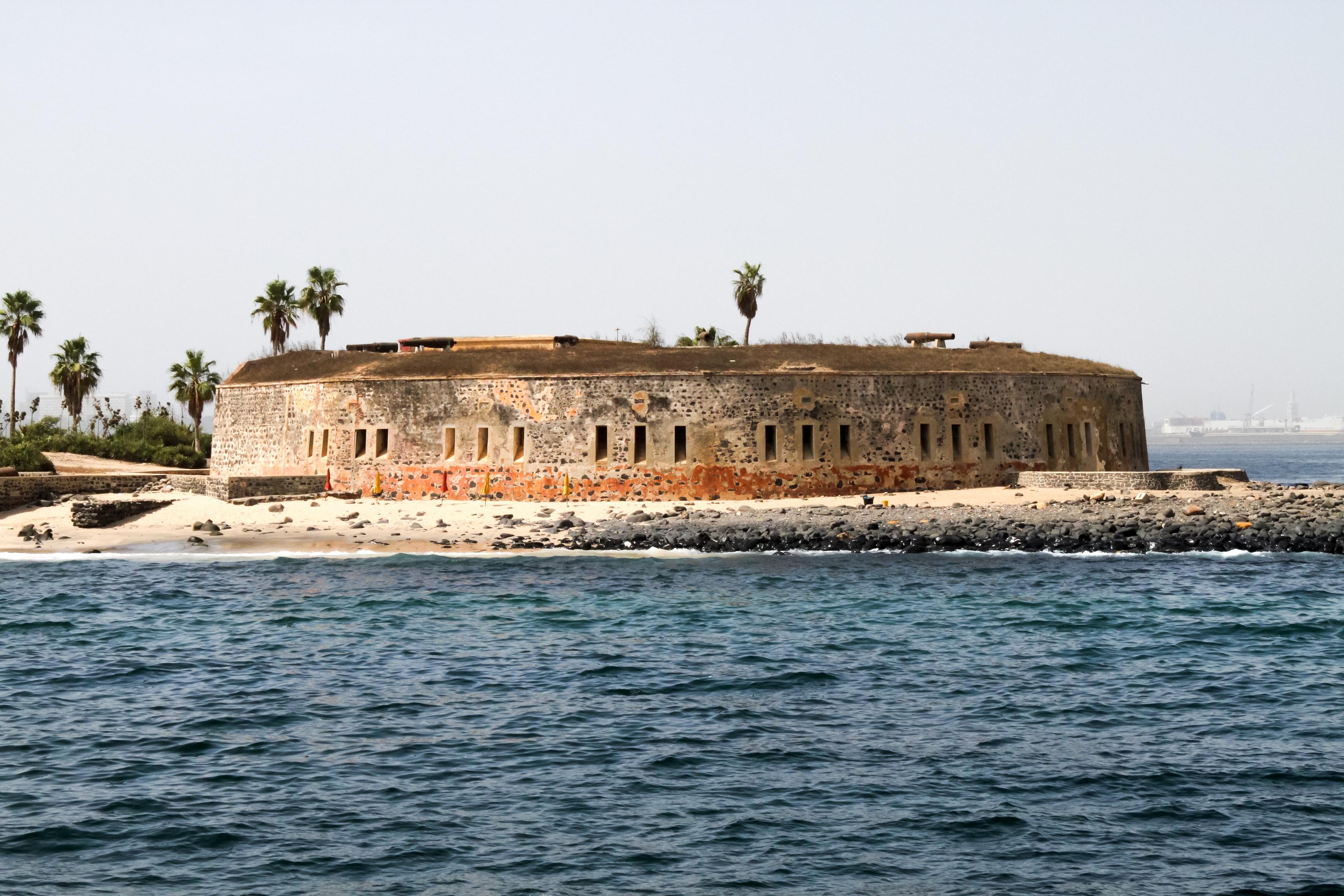 Slave fort in Senegal