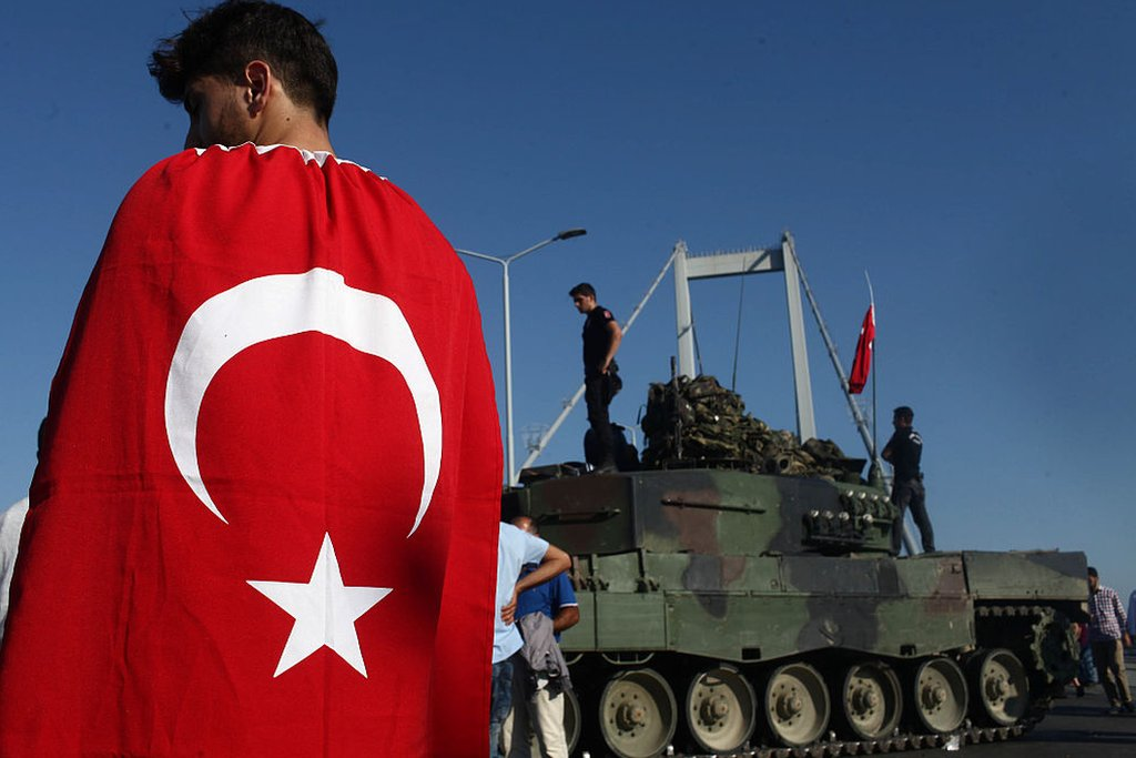 upaya kudeta Turki