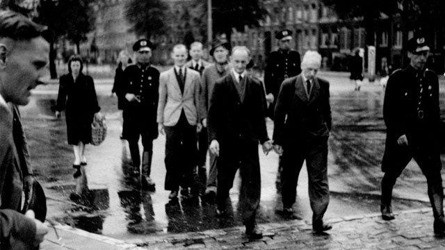 Raid in Amsterdam in 1943