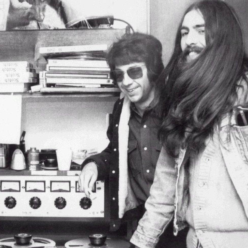 Phil Spector & George Harrison