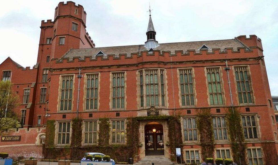 Firth Court, University of Sheffield