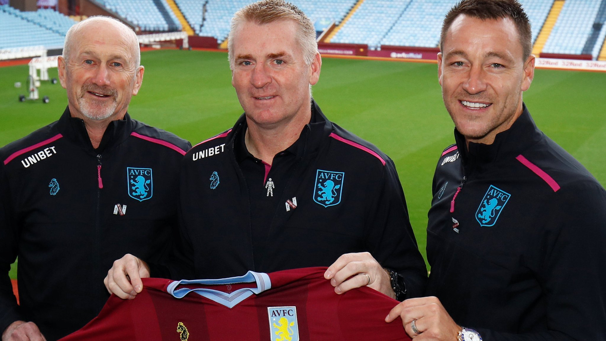 Aston Villa: John Terry and head coach Dean Smith are 'excellent fit', says chief executive