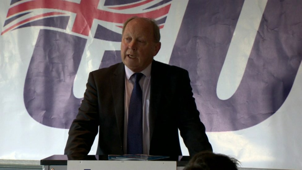 TUV leader: 'Anger of Brexiteers main election issue'
