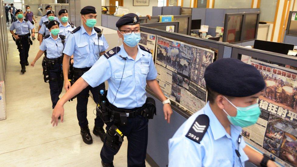 Hong Kong, China, UU Keamanan Baru, Jimmy Lai, pers