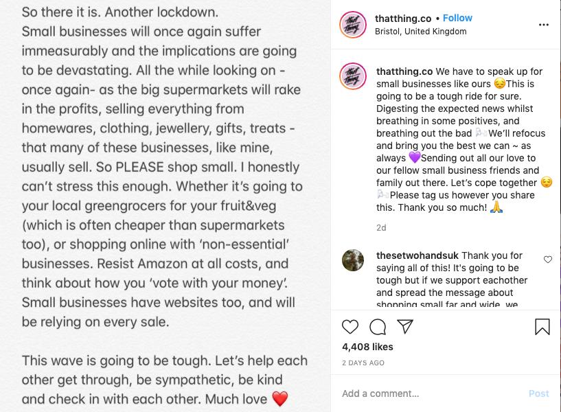 Joh Rindom's Instagram post