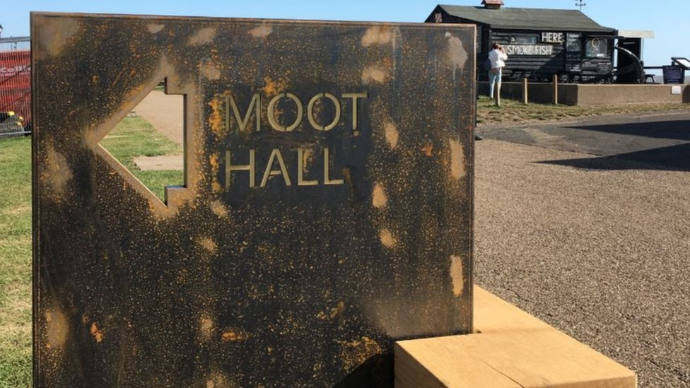 Moot Hall sign