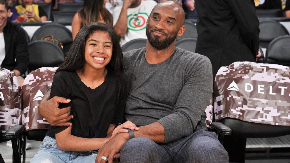 Gianna y su padre, Kobe Bryant