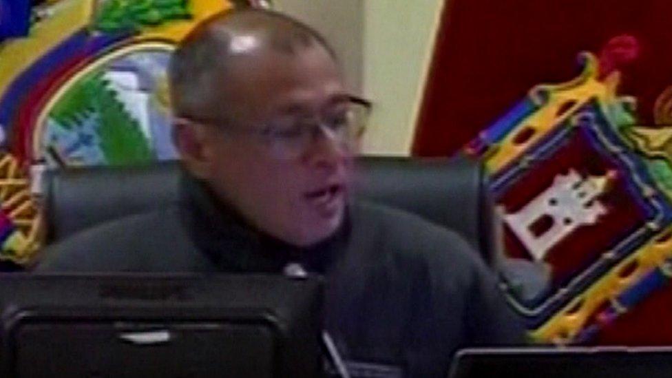 Ecuador's Vice-President Jorge Glas