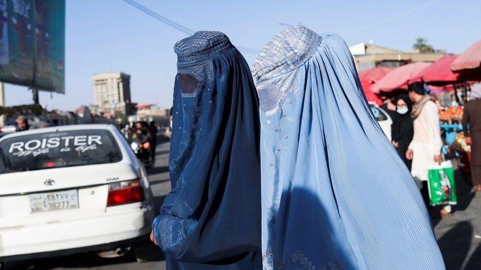 زي النساء في ظل حكم طالبان