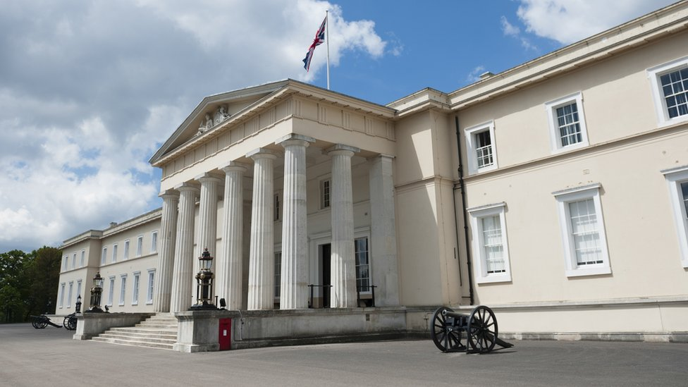 Officer cadets 'waterboarded' Sandhurst colleague