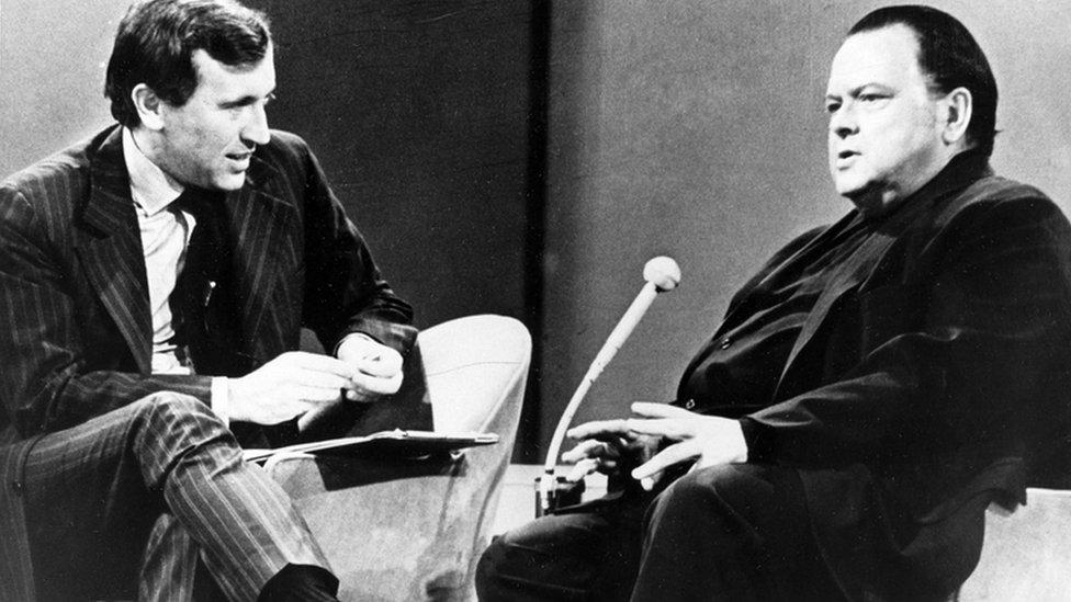 Orson Vels u emisiji 1970. godine