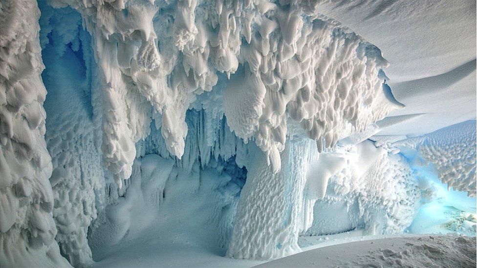 Antarctic cave