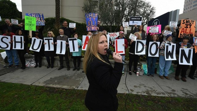 Porter Ranch residents protest