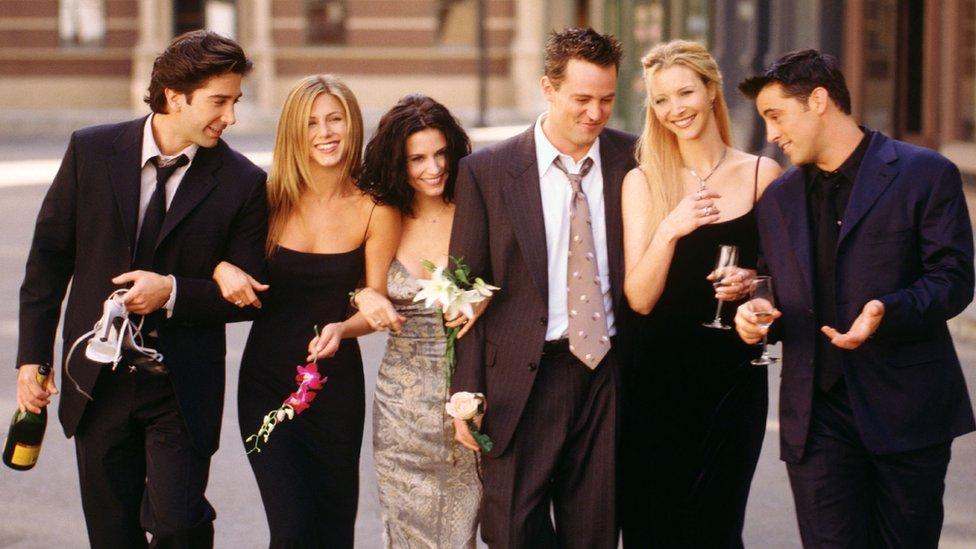 Glumačka ekipa serije Prijatelji