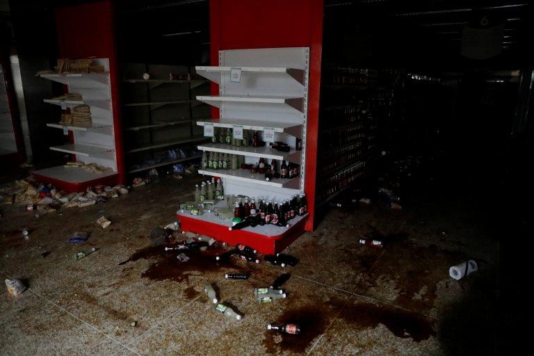 Saqueos en Caracas