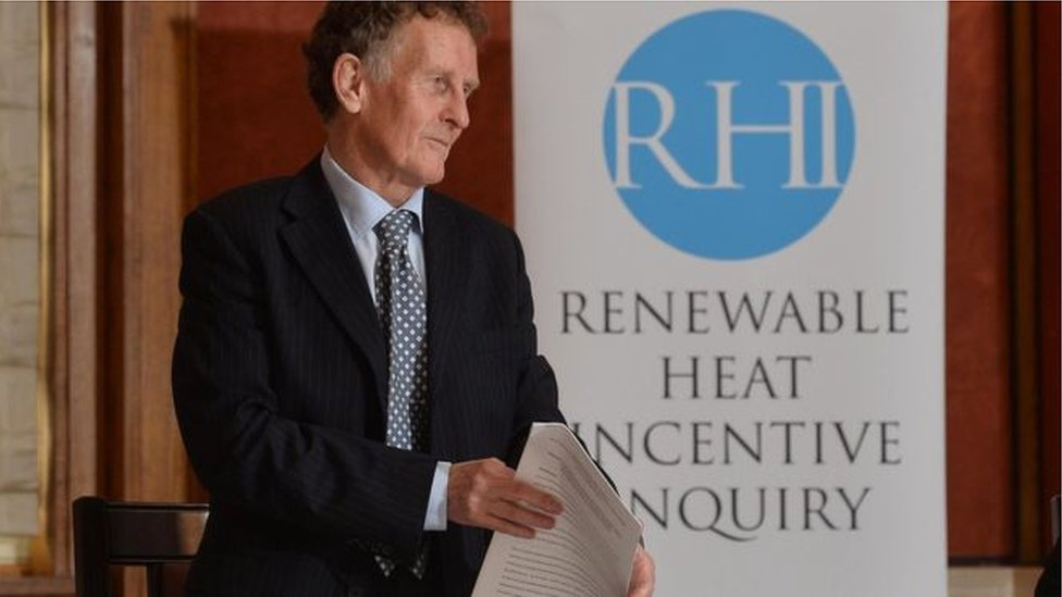 RHI: Significant criticism of individuals and groups likely