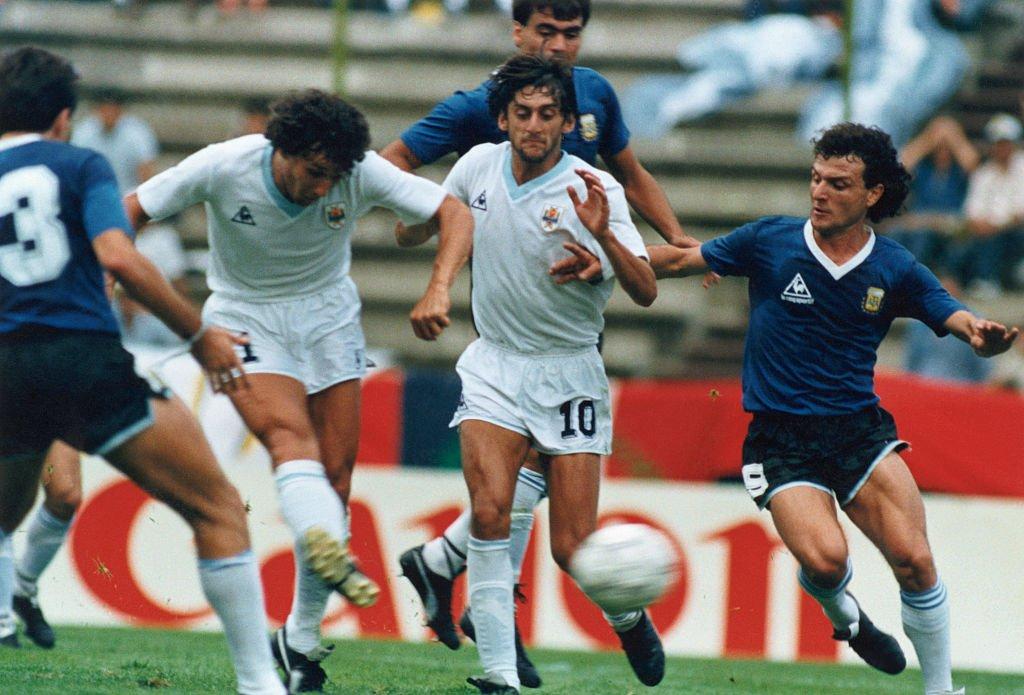 Enzo Francescoli de Uruguay fue una de las grandes figuras presente en México 86.