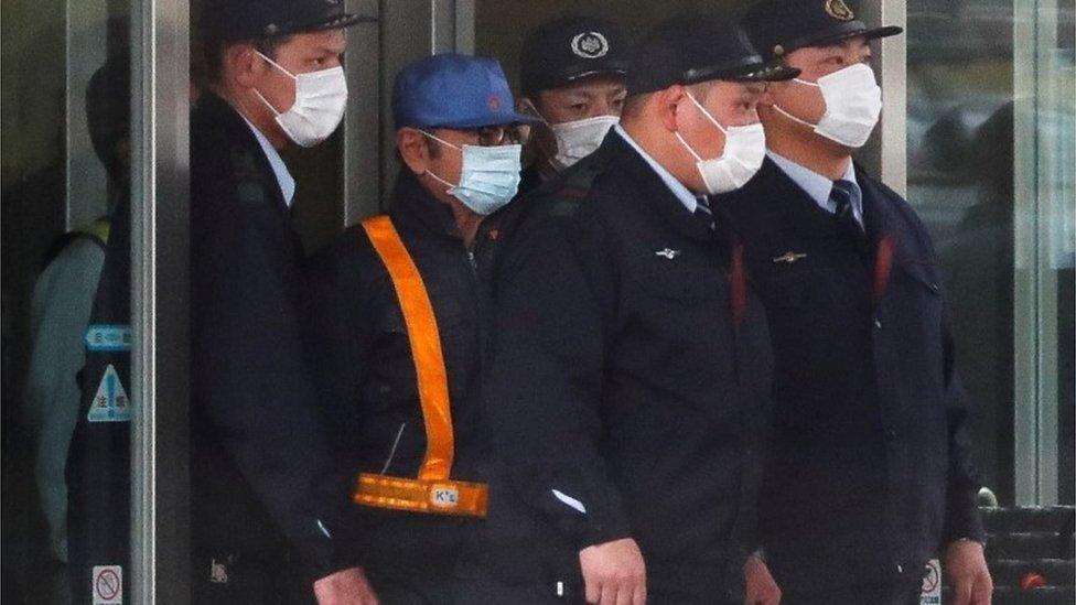 Nissan ex-boss Ghosn released on bail