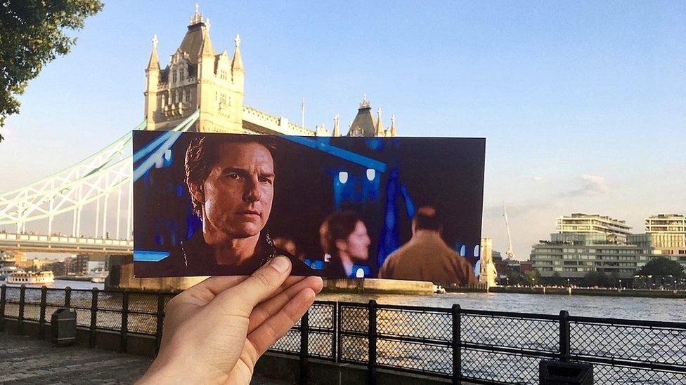 Scena iz filma Nemoguća misija