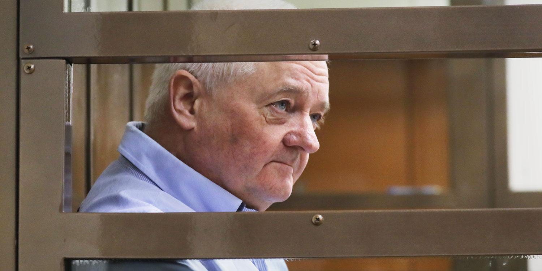 Norveški državljanin Frode Berg u moskovskoj sudnici, januar 2019. godine