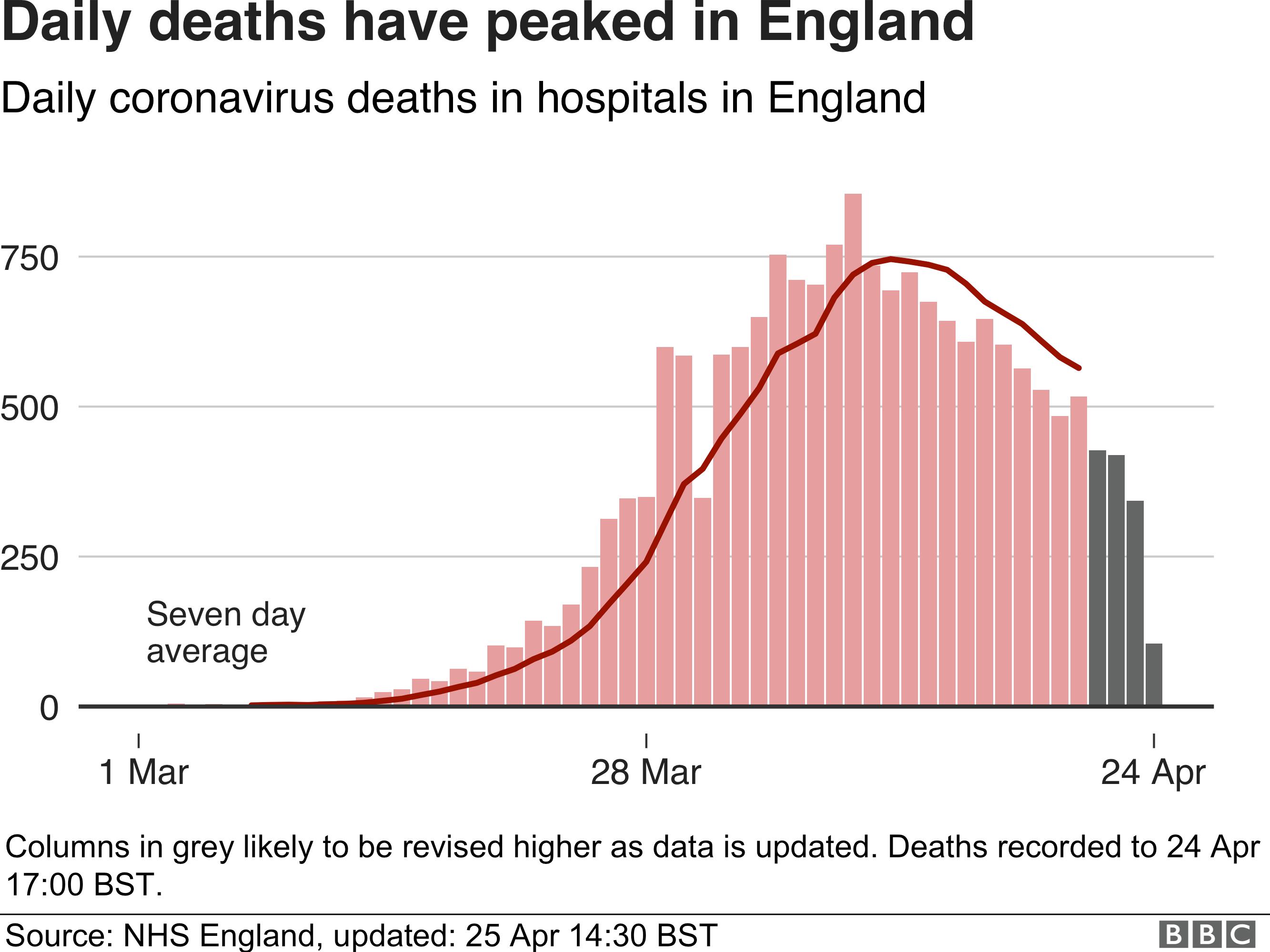 Coronavirus Does 20 000 Hospital Deaths Milestone Mean Failure For Uk Bbc News