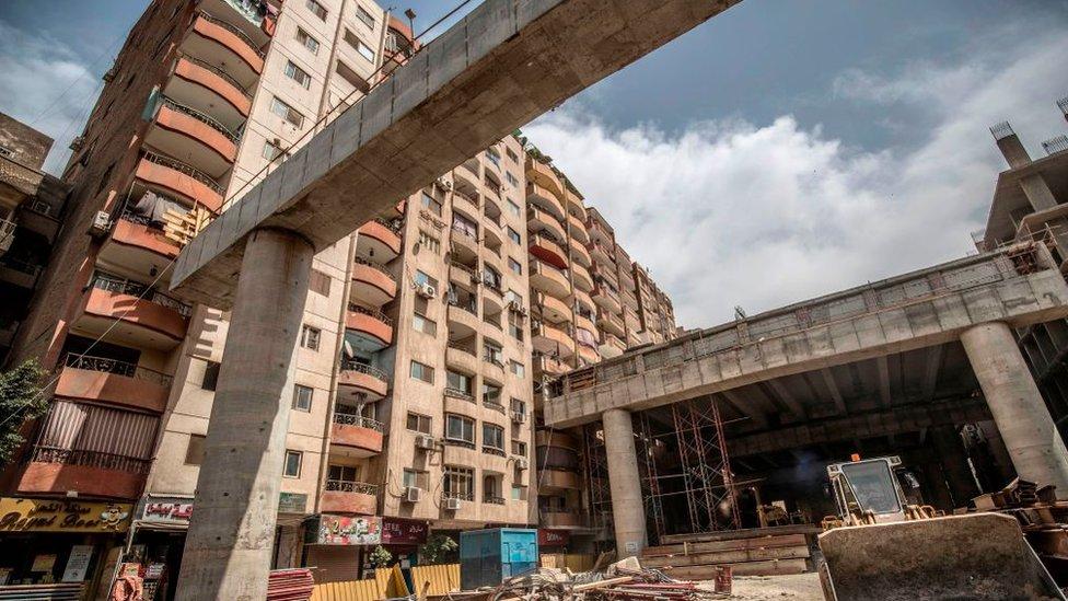 Puente en Giza, El Cairo