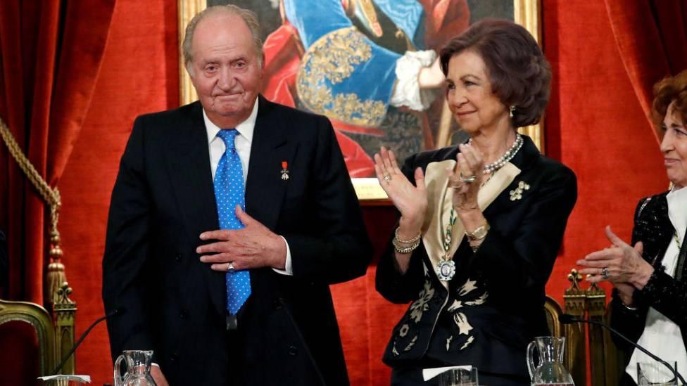 Juan Carlos y la reina Sofía