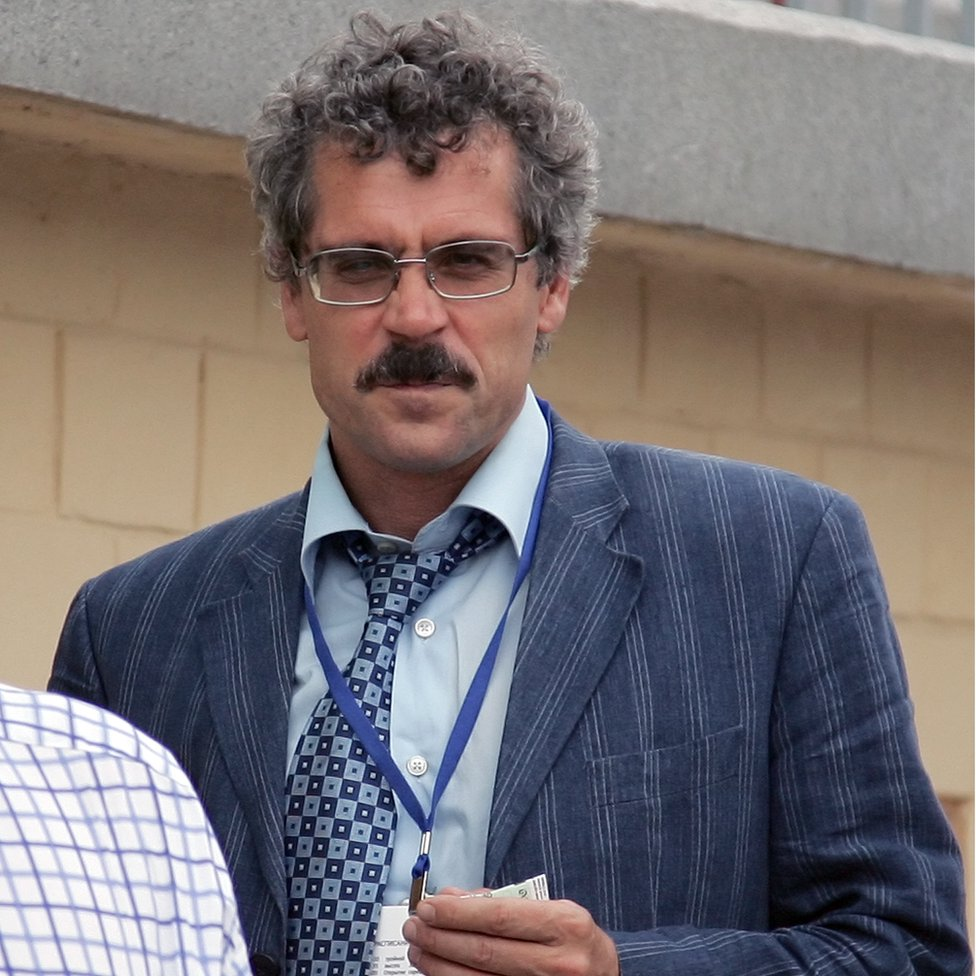 Grigory Rodchenkov in 2007