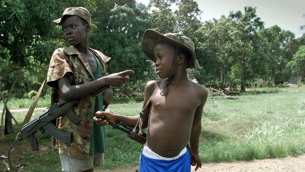 Child soldiers in Sierra Leone