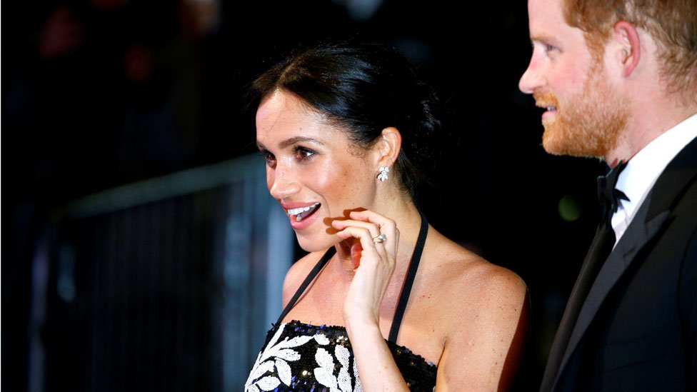 Meghan meets Take That at first Royal Variety Performance