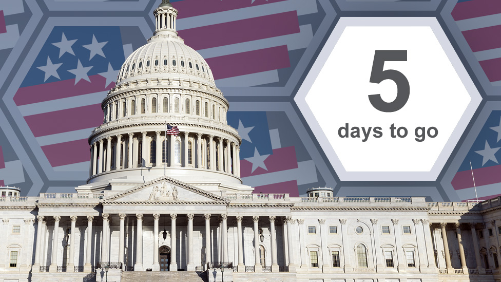Graphic showing 5 days to go