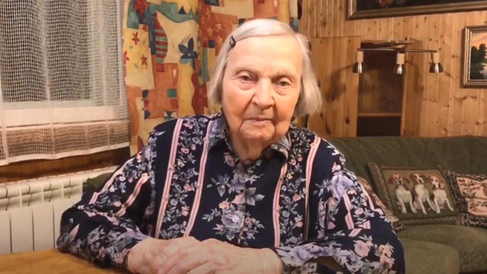 Russian war veteran Zinaida Korneva raises money for Covid-19 victims on YouTube