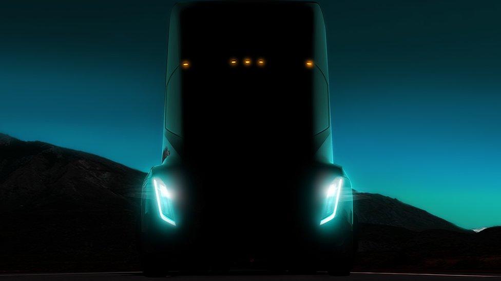 Tesla's electric truck