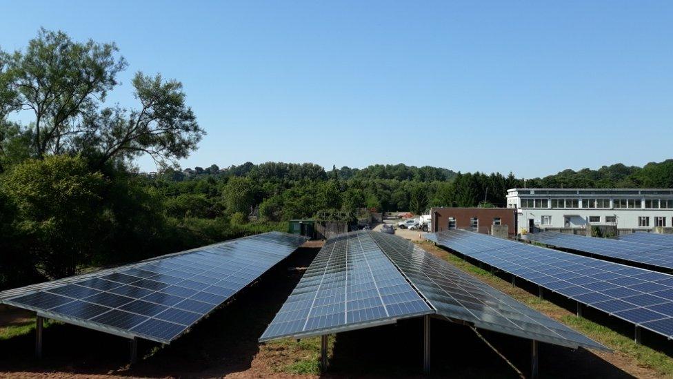 Solar installation in Cwmbran