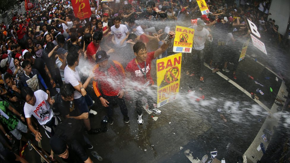 Filipina, Manila