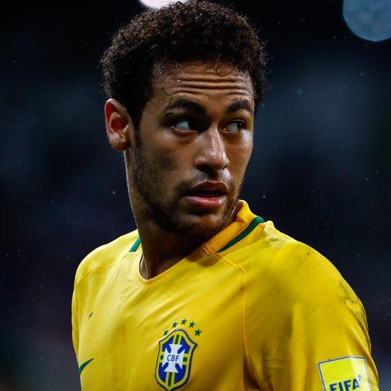Neymar ocupa el quinto lugar en la lista.