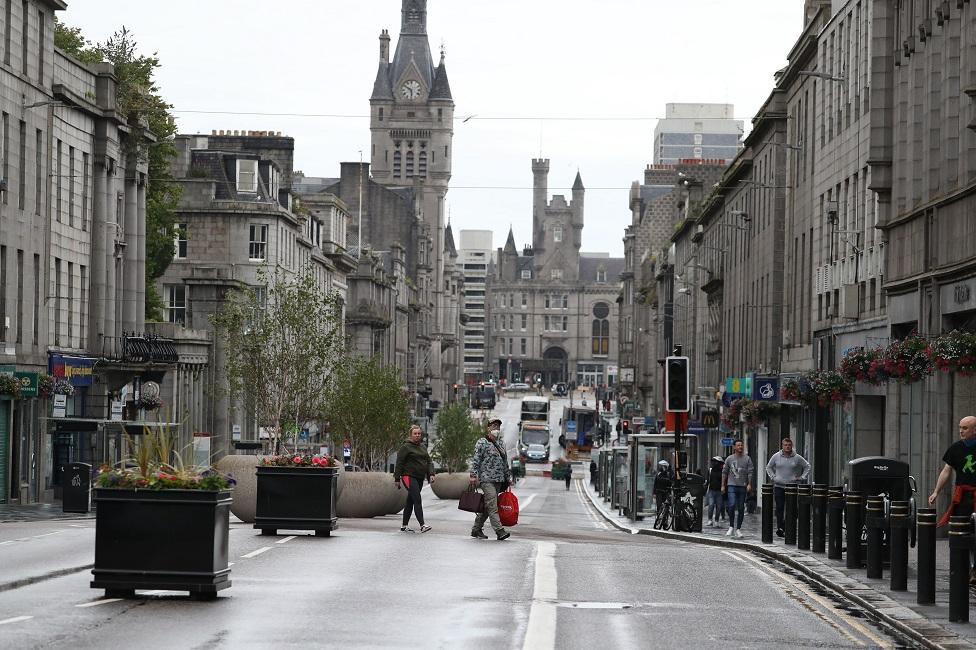 Aberdeen during summer lockdown