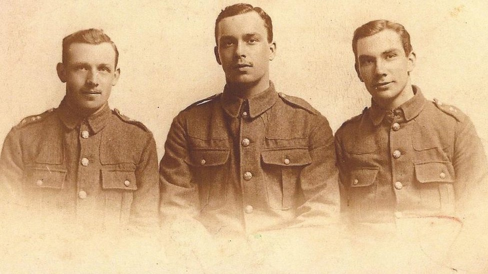 Phillips brothers from Horseman's Green