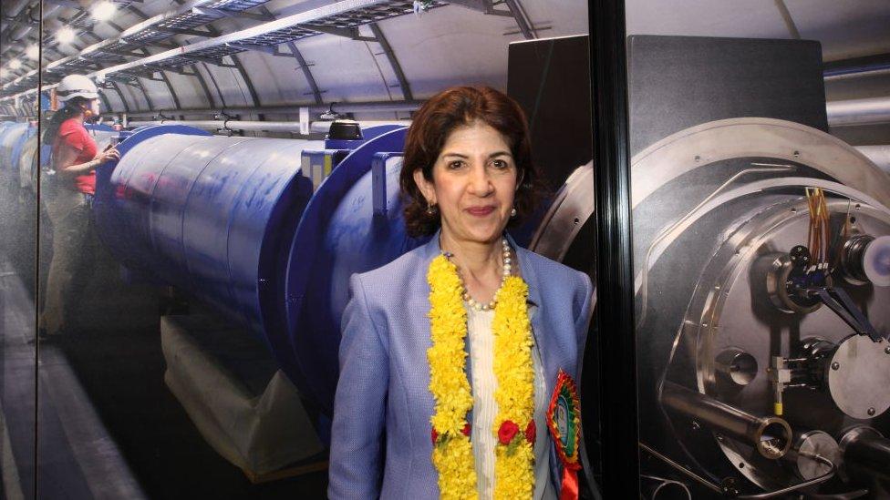 Fabiola Gianotti en una foto del 30 de agosto de 2019.