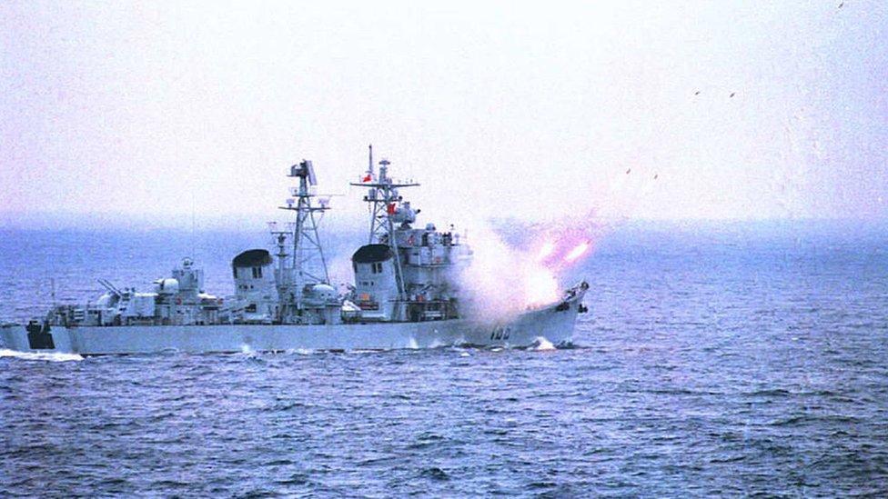 Entrenamientos militares de China