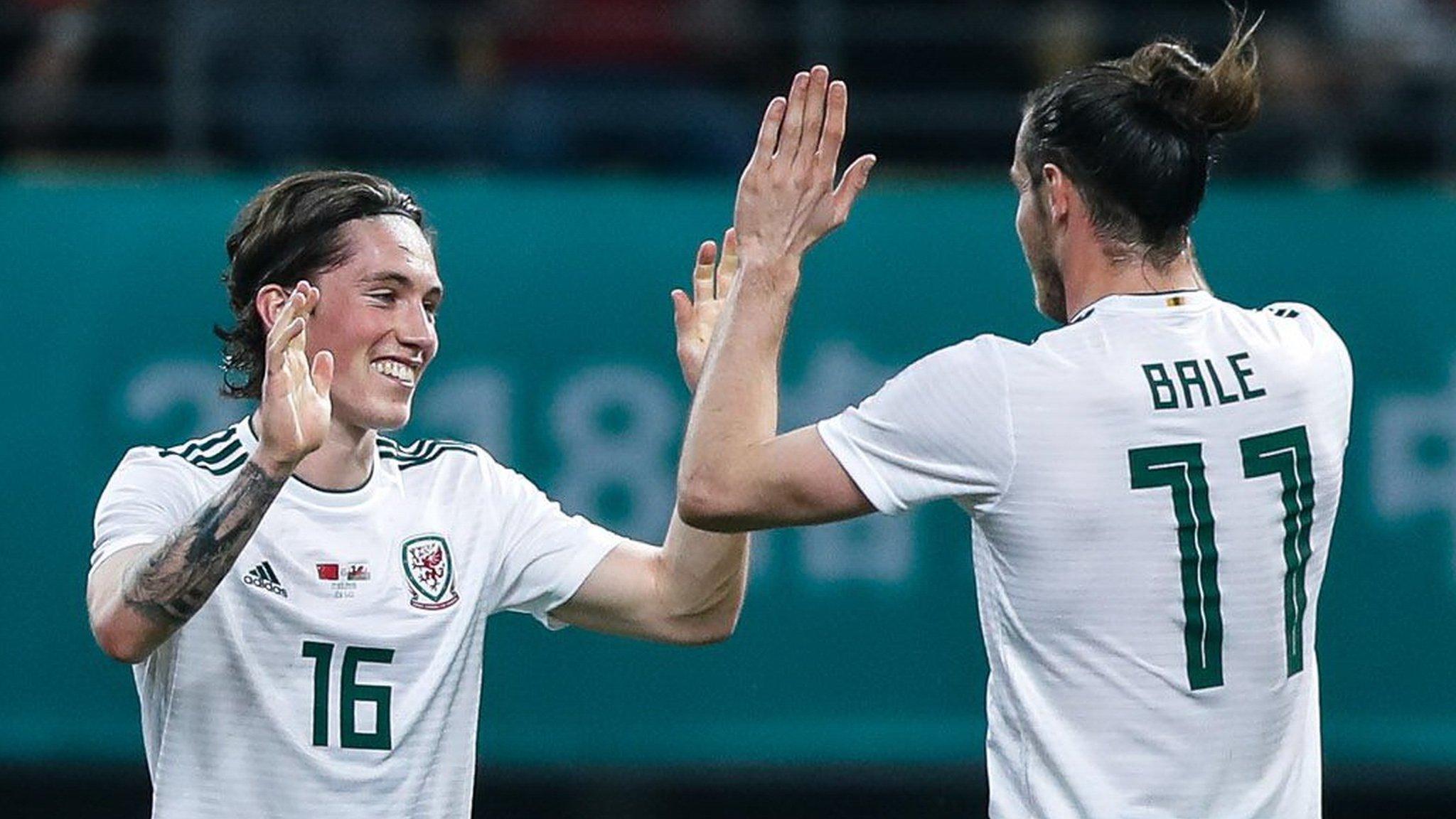 Gareth Bale still Wales free-kick master - Harry Wilson