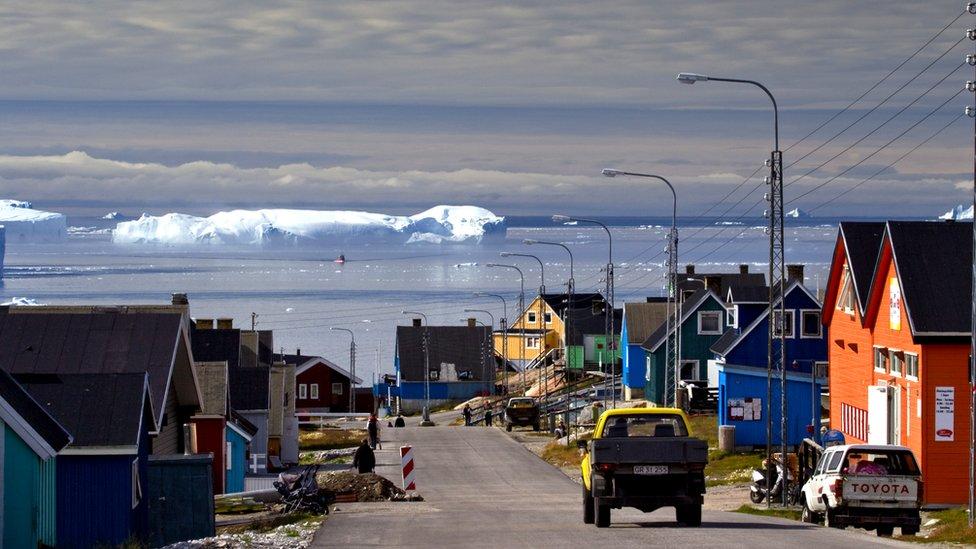 Ilulissat, Grönland.