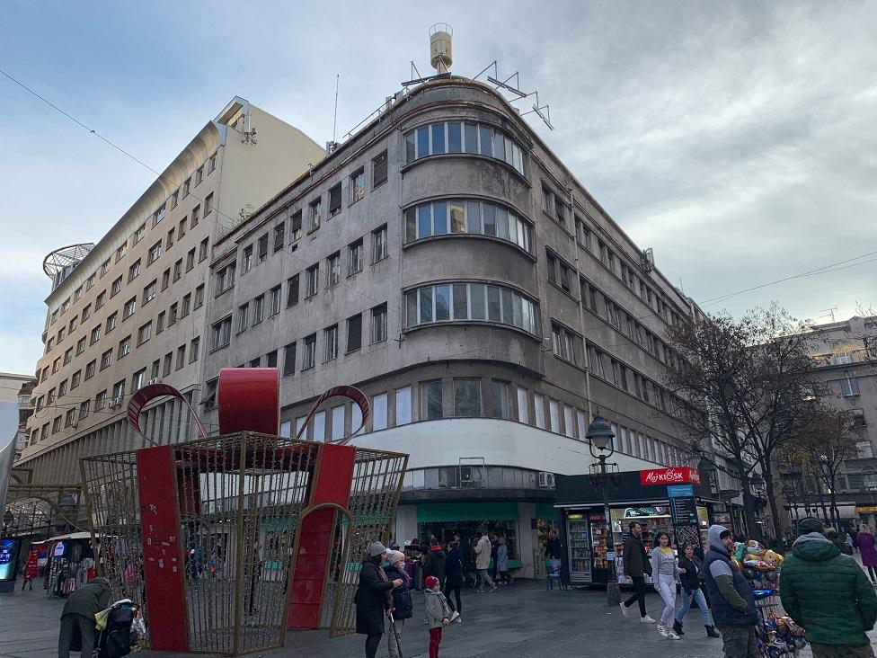 Zgrada Robne kuće u Knez Mihailovoj ulici