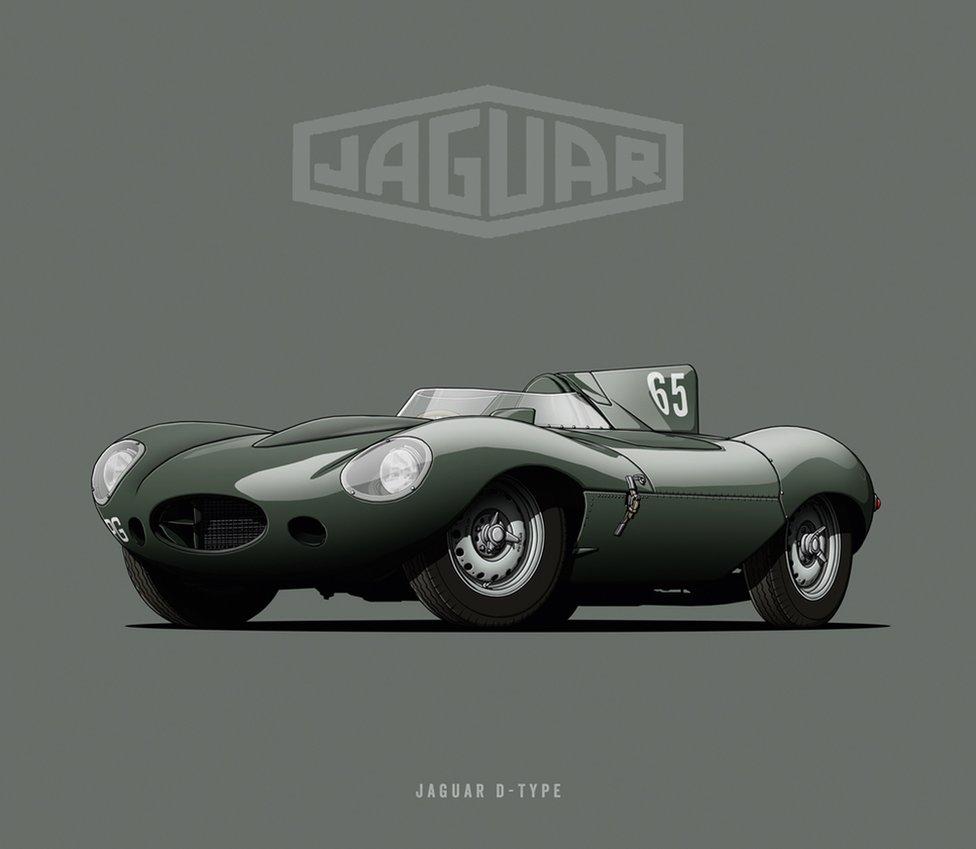 "Jaguar D-Type - ""Long Nose"""