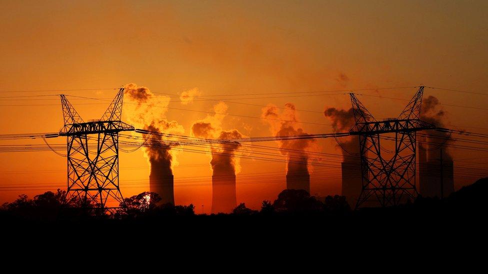 Coal-fired power station run by Eskom in Lesotho