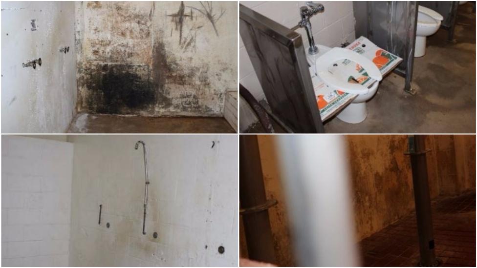 condiciones de las cárceles de Alabama