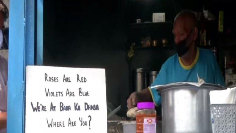 Baba ka Dhaba in Delhi