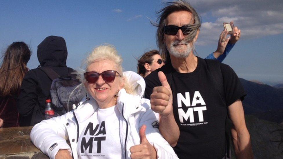 Nick's parents